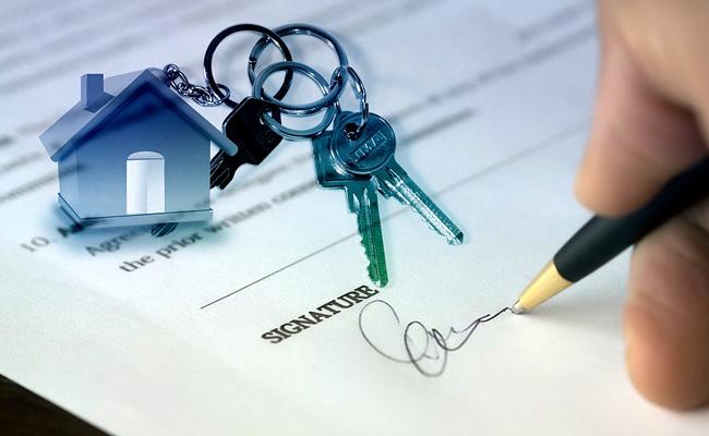 Conclure un compromis de vente d'un logement.